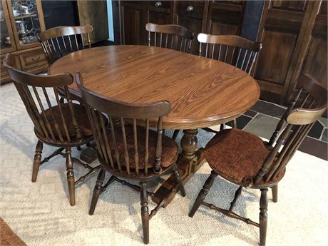 Cochrane Oak Dining Set
