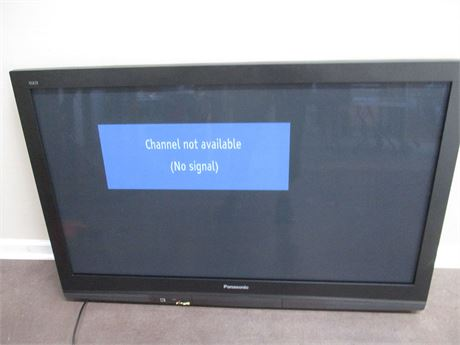 "PANASONIC 50"" HD PLASMA TV WITH REMOTE"
