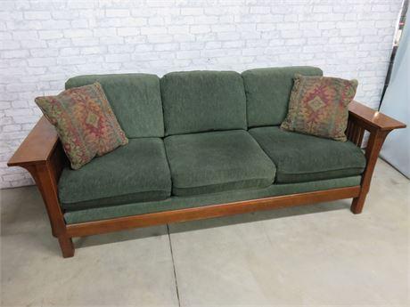 BASSETT Grove Park Mission Style Sofa