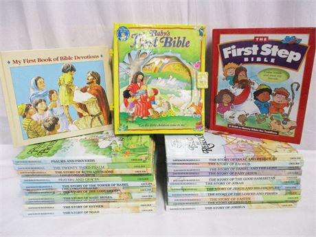 "LOT OF CHILDREN'S BIBLE STORIES FEATURING ""ALICE IN BIBLELAND"""