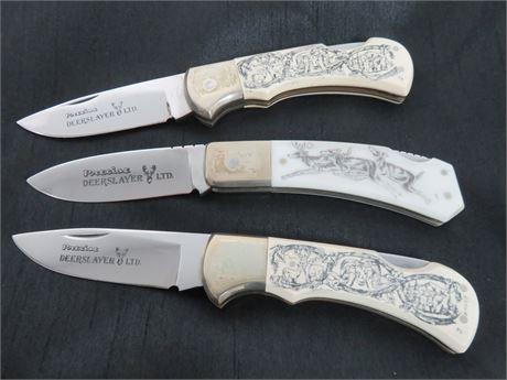 PRECISE DEER SLAYER LTD Folding Blade Knives