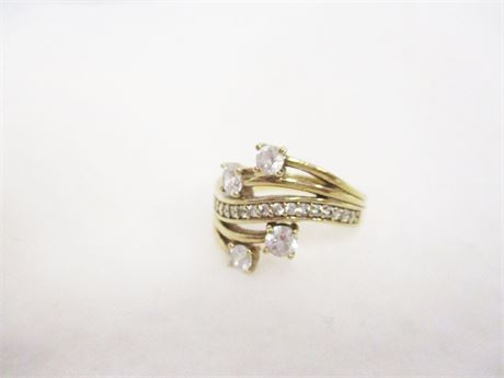 BEAUTIFUL SIZE 8 STERLING RING