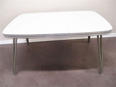 VINTAGE 1950s RETRO FORMICA TABLE