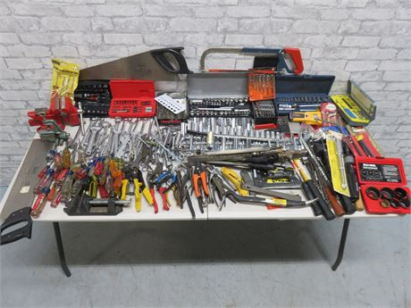 Huge Assorted Hand Tool Lot