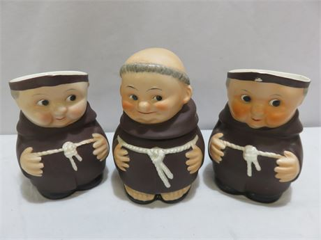 GOEBEL Friar Tuck 3-Piece Lot