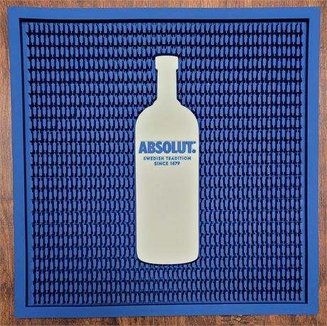 Large Brand New Absolut Bar Matt