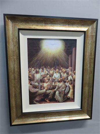 Framed Religious Art Print