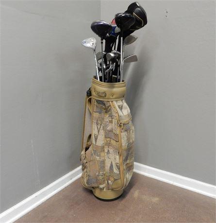 Azura Golf Bag and Golf Clubs