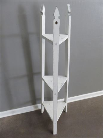 3-Shelf Corner Stand