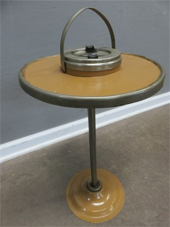 Vintage Pedestal Ash Tray Stand