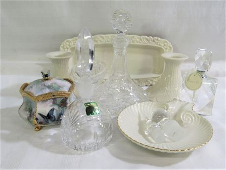 9 PIECE MISC. LOT INCLUDING LENOX AND WATERFORD