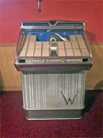 1950's Wurlitzer 45's Juke Box