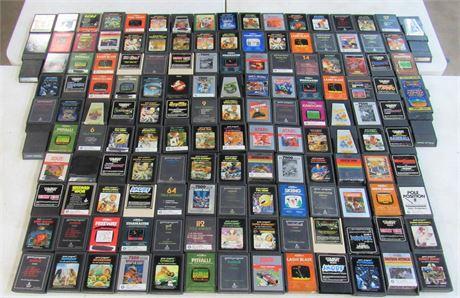 Huge Vintage Atari Game Lot - 135 plus Games