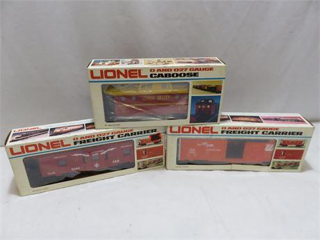 Vintage LIONEL O and O27 Gauge Train Car Lot