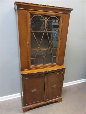 Vintage BRICKWEDE China Cabinet