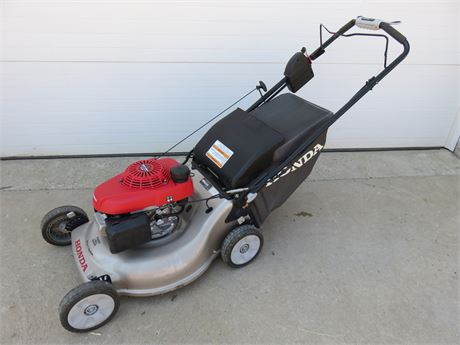 "HONDA 21"" 160cc 3-In-1 Self-Propelled Electric Start Lawn Mower"