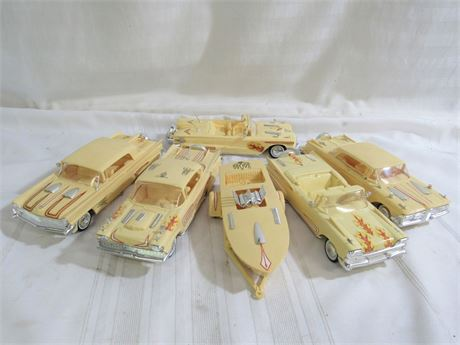 Vintage late 1950's (58/59) Built Model Car Lot - Ford Lovers