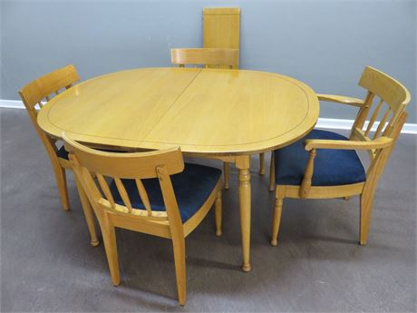 Pine Dining Table Set