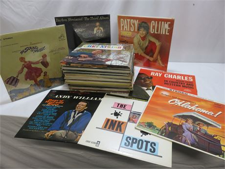 Over 50 Vintage Record Albums
