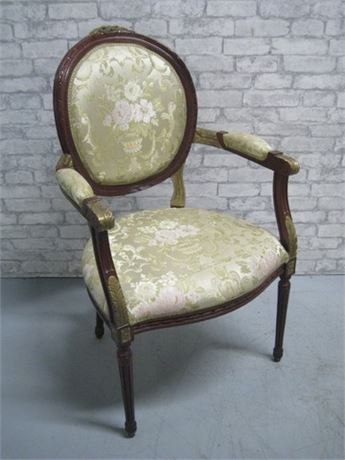 NICE VINTAGE LOOK OCCASIONAL/SIDE CHAIR
