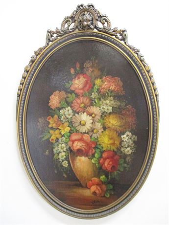 REPRODUCTION OF VINTAGE STILL LIFE BY L. ROTH