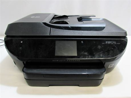 HP Envy 7640 All-In-One Printer - Print/Fax/Scan/Copy/Web/Photo