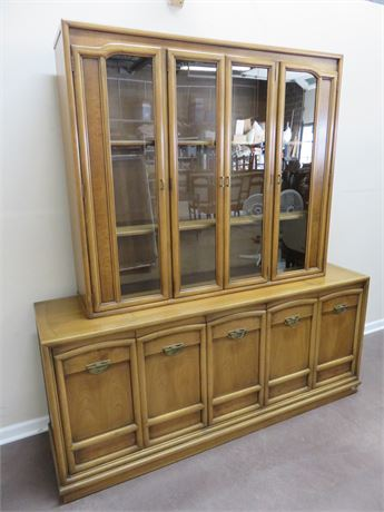 Vintage Mid-Century DREXEL China Hutch