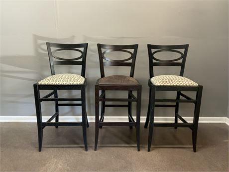 Set of (3) Bar Stools