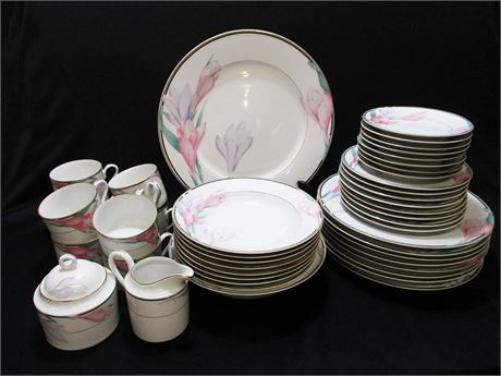 """8 PLACE SETTINGS OF MIKASA """"SHASTA"""" CHINA WITH EXTRAS"""