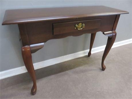 Queen Anne Cherry Sofa Table