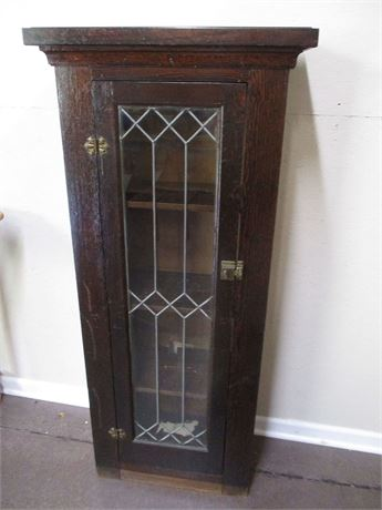 VINTAGE TALL NARROW CABINET