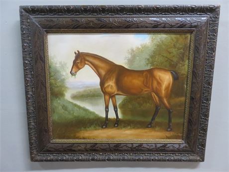 P. ROLEN Horse Painting