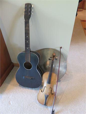 Musical Instrument Lot
