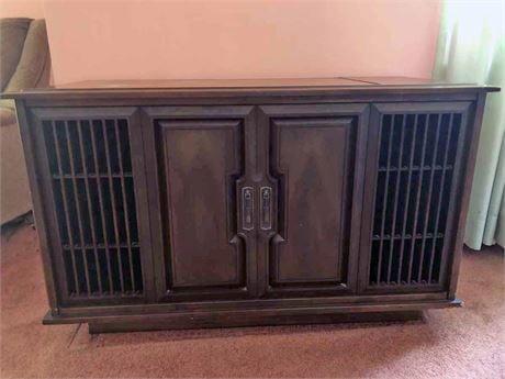 Mid Century RCA Stereo Console
