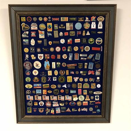Button Collection Display