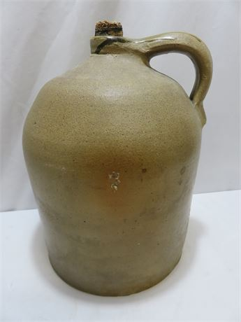Vintage Stoneware 3-Gallon Whiskey Jug