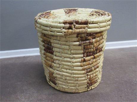 Woven Laundry Hamper/Basket