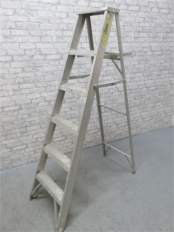 6-Ft. Aluminum Step Ladder