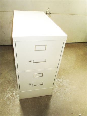 STEELCASE EXTRA-DEEP 2-DRAWER FILE CABINET