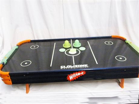 WHAM-O GLOW ZONE NIGHT AIR HOCKEY GAME