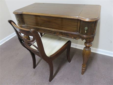 Antique Spinet Desk
