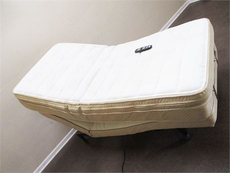 CONTOUR ADJUSTABLE TWIN BED (OR, HALF OF A KING) WITH REMOTE