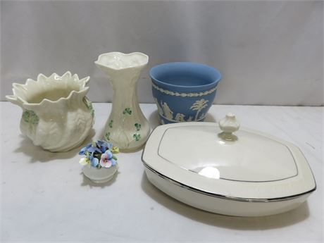 5-Piece Porcelain Lot