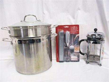 LOT OF KITCHEN ESSENTIALS FEATURING FOOD NETWORK AND BODUM