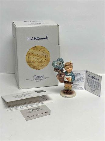 "Special Edition ""Good News"" Figurine"