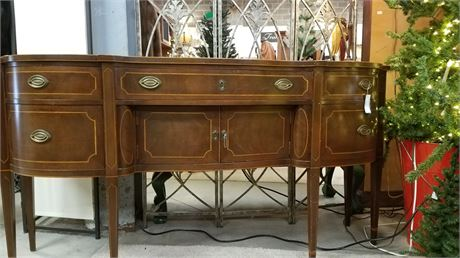 Irwin Bow front Buffet/Sideboard