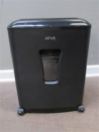 Ativa Paper Shredder on Casters