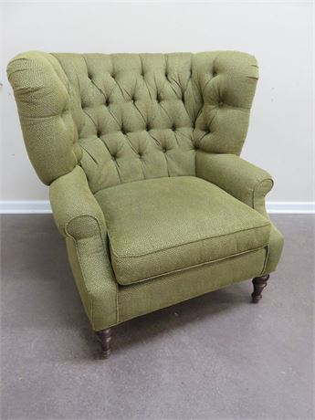 Tufted Parlor Chair