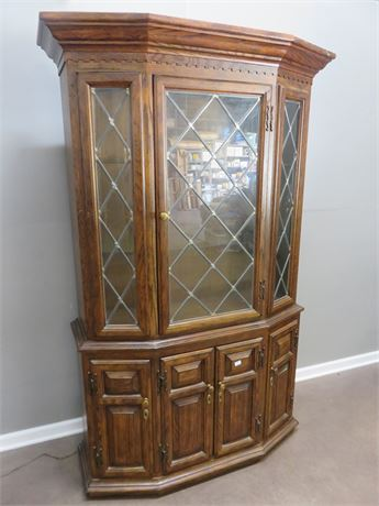 CENTURY FURNITURE Oak China Hutch