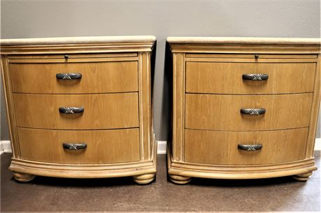 Lexington Atlantic Overtures Matching Night Stands with Granite Top
